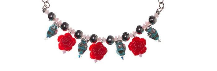 Kette Skulls & Roses