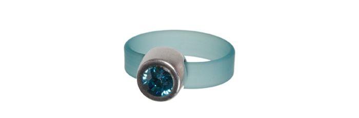 Band-Ring Aquamarine