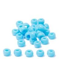 Miyuki Rocailles rund  11/0  (ca. 2 mm), Light Blue Opaque, 23 gr.