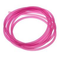 PVC-Schlauch Durchmesser 2,5 mm, fuchsia, Länge 1 m