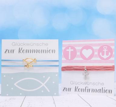 Schmuckstücke für Konfirmation und Kommunion