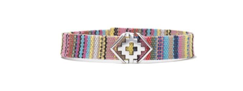 Armband mit Schiebeperlen Ethno Silber