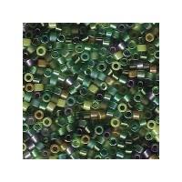 Delica 11/0, mix evergreen, ca. 7,2 gr
