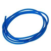 PVC-Schlauch Durchmesser 2,5 mm, blau transparent, Länge 1 m