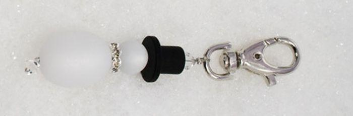Schneemann-Schlüsselanhänger