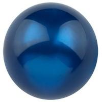 Polarisperle glänzend, rund, ca. 14 mm, dunkelblau