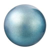 Preciosa Nacre Pearl Round Maxima, 4 mm, pearlescent blue