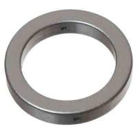 Metal-Effect-Element Ring 18 mm, silberfarben matt