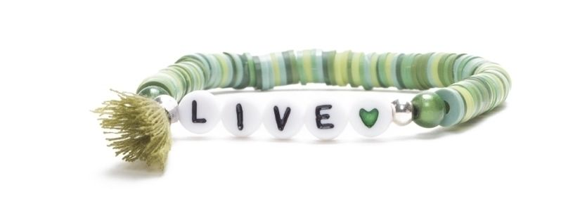 Armband mit Katsuki Perlen Live