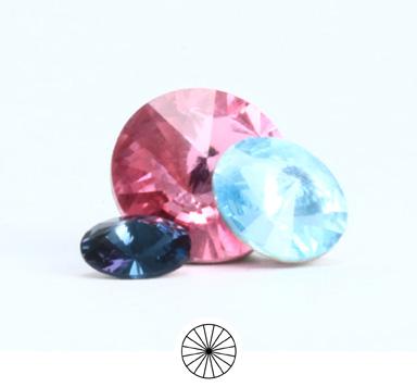 Preciosa Round Stone Rivoli