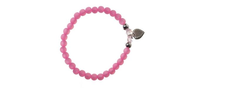 Polaris-Armband Rose Herz