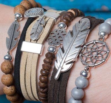 Ethno-Armbänder