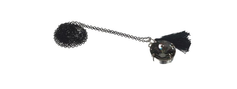 Boho-Kette Black Diamond