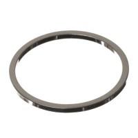 CM Metallanhänger Kreis, 16 x 1 mm, silberfarben
