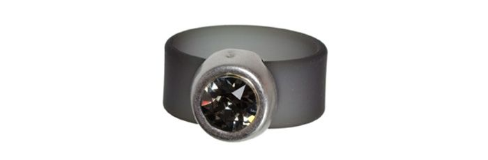 Band-Ring Black Diamond