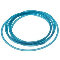 PVC-Schlauch Durchmesser 2,5 mm, türkisblau, Länge 1 m