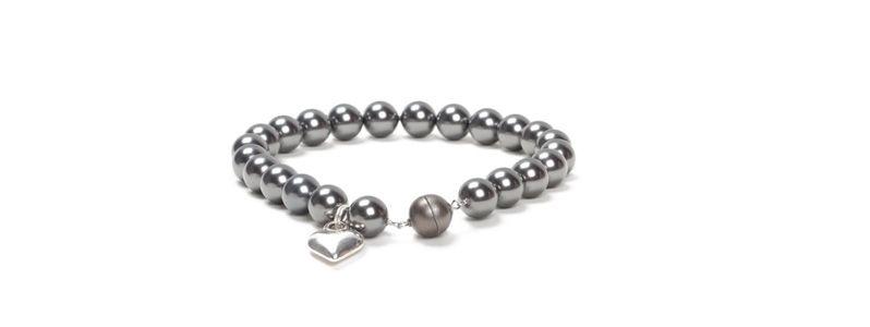 Armband Magic Power Magnetverschluss & Crystal Pearls
