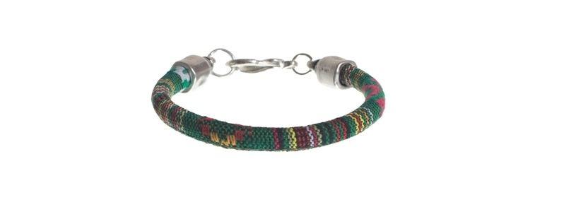 Ethno-Armband Grün