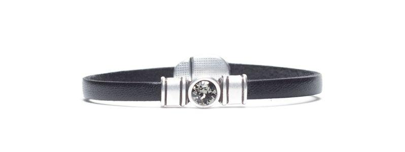 Armband  mit Sliderperlen Swarovski Chaton
