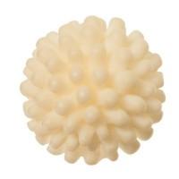 Cabochon aus Kunstharz, rund, Durchmesser 12 mm, weiß