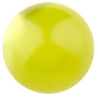 Polarisperle glänzend, rund, ca. 20 mm, hellgrün
