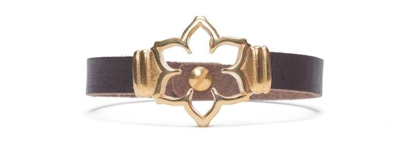 Armband  mit Sliderperlen Blume