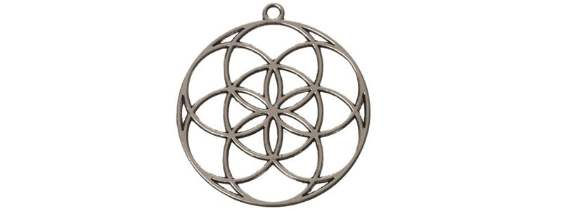 Blume des Lebens Perlen und Anhänger