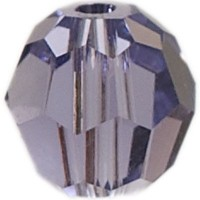 Swarovski Elements, rund, 8 mm, tanzanite