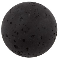 Polarisperle gala sweet, Kugel, 20 mm, schwarz
