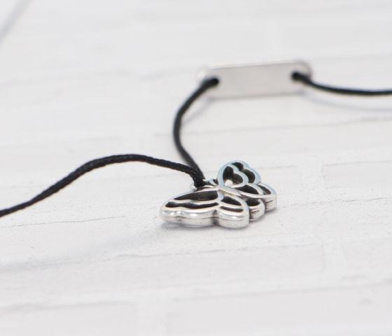 Armband mit Schiebeverschluss machen Schritt 7