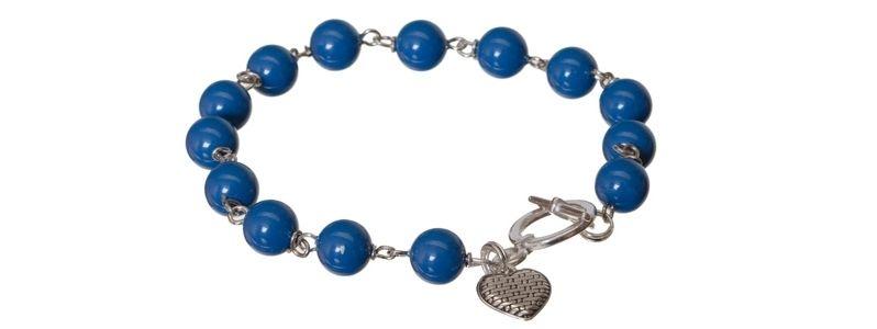 Armband mit Crystal Pearls Lapis