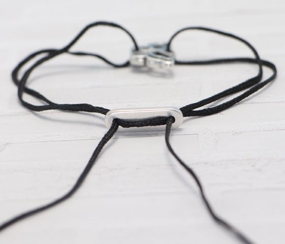 Armband mit Schiebeverschluss machen Schritt 8