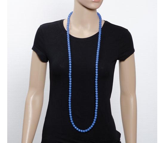 Eine Perlengröße - verschiedene Kettenlängen (122cm)