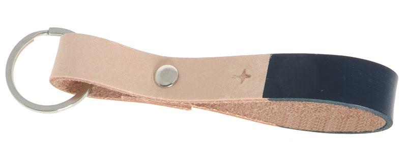 Leder-DIY Schlüsselanhänger Kompass