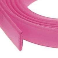 Flaches PVC-Band 10 x 2 mm, fuchsia, 1 m