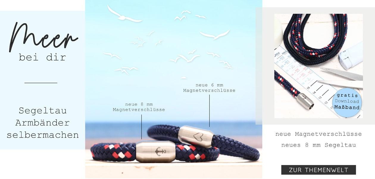 Segeltau Armband selbermachen