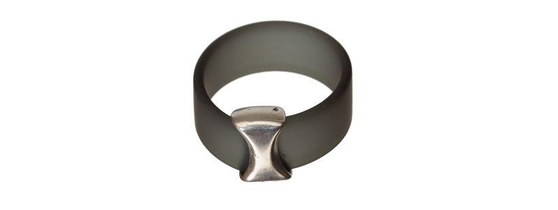 Ring Spacer Grau