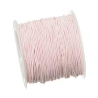 Gummikordel, Durchmesser 1,0 mm, Länge 20 m, rosa