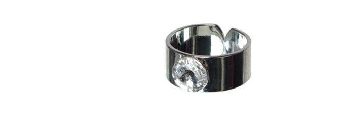 Ring mit Swarovski Rivoli Crystal