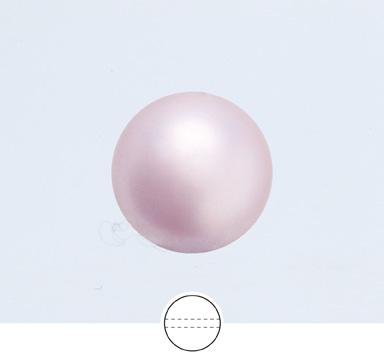 Preciosa 6 mm Nacre Pearl Round