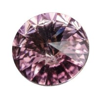 Swarovski Rivoli (1122), 12 mm, light amethyst