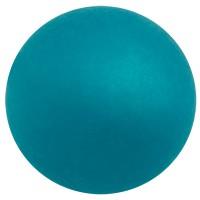 Polarisperle, rund, ca. 16 mm, türkisblau
