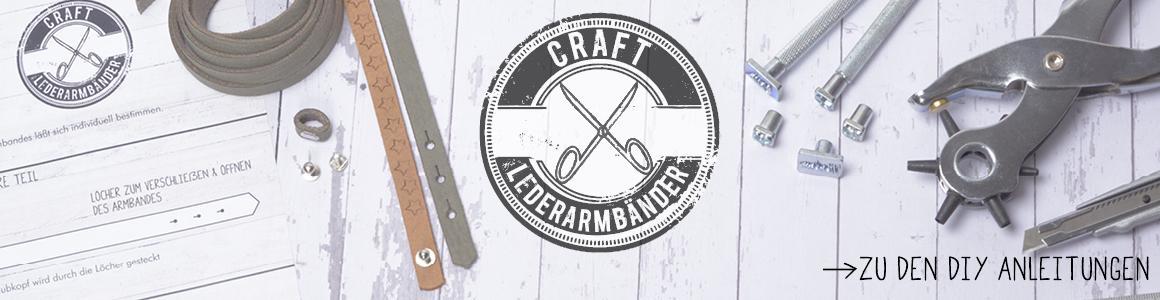 Breites Craft Lederband 5 und 10 mm