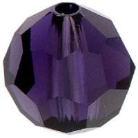 Swarovski Elements, rund, 8 mm, purple velvet