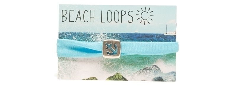 Beach Loop Anker Hellblau