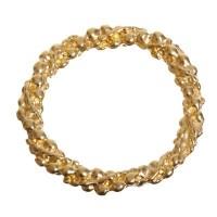 Metallanhänger, Ring, 24 mm, vergoldet