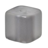 Polaris Würfel, 8 mm, glänzend, dunkelgrau