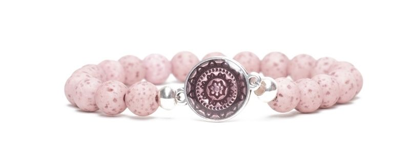 Ethno-Armband Mandala Opal