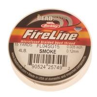 Fireline, Durchmeser 0,12 mm, Länge 13,7 m (15 Yard) , smoke