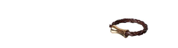 """Ring """"Gold-Röhre"""""""